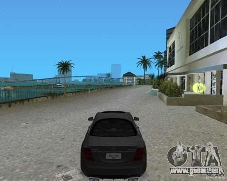 Mercedess Benz CL 65 AMG für GTA Vice City linke Ansicht