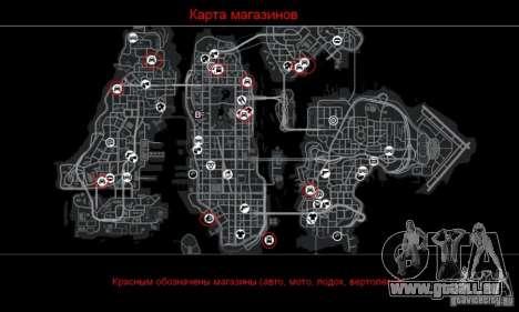 Car Shop Mod pour GTA 4 cinquième écran