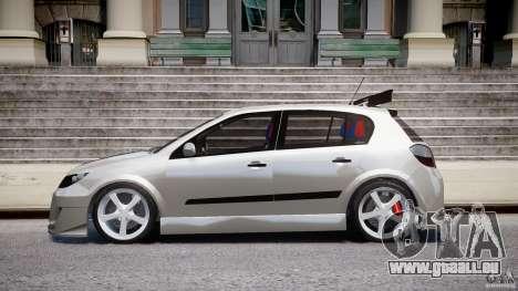 Opel Astra 1.9 TDI 2007 pour GTA 4 est une gauche
