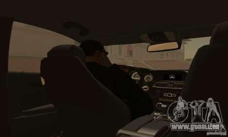 Mercedes-Benz C63 AMG für GTA San Andreas Seitenansicht