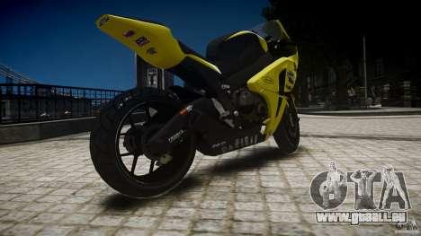 Honda CBR1000RR für GTA 4 linke Ansicht