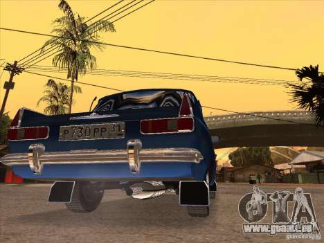 Moskvitch 412 pour GTA San Andreas sur la vue arrière gauche