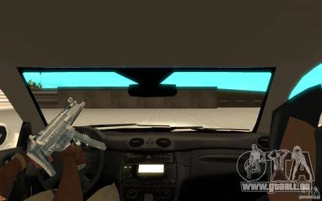 Mercedes-Benz CLK 500 Kompressor für GTA San Andreas rechten Ansicht