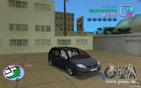 Citroen C8 pour GTA Vice City