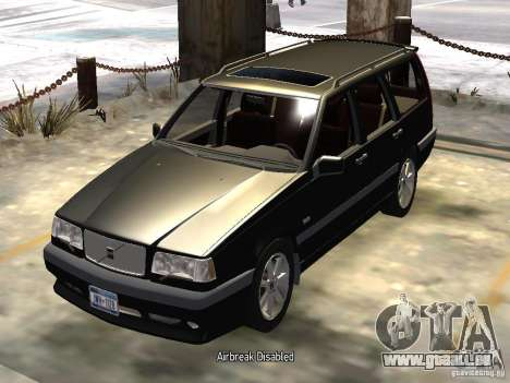 Volvo 850 R 1996 Rims 1 pour GTA 4