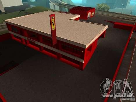 Nouveau Showroom de Ferrari à San Fierro pour GTA San Andreas