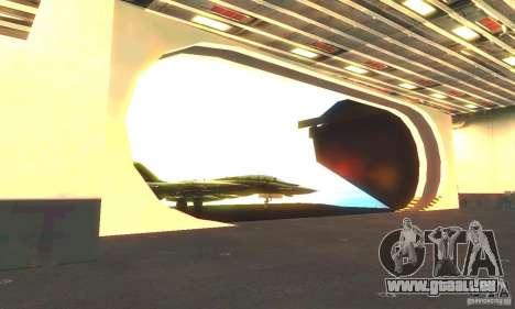 CVN-68 Nimitz pour GTA San Andreas quatrième écran