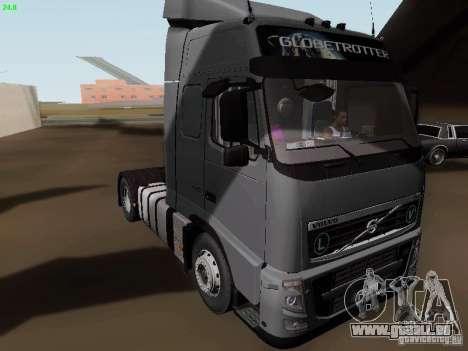 Volvo FH13 Globetrotter für GTA San Andreas linke Ansicht