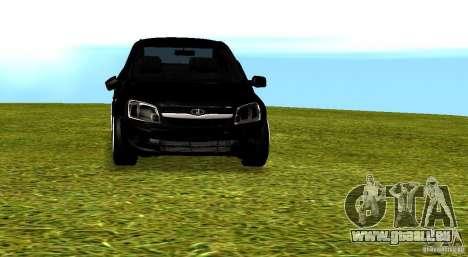 LADA Granta v2.0 pour GTA San Andreas vue de côté