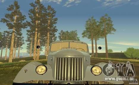ZIL 164 Traktor für GTA San Andreas Unteransicht