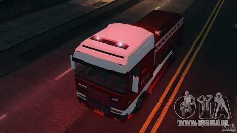 DAF XF Firetruck pour GTA 4 est un droit