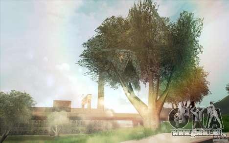Lensflare für GTA San Andreas dritten Screenshot