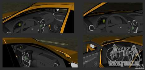 Lada Granta v2.0 für GTA Vice City Seitenansicht
