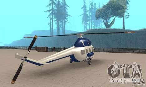 Mi-2 canaux pour GTA San Andreas laissé vue
