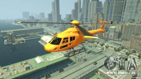 Helicopter From NFS Undercover pour GTA 4