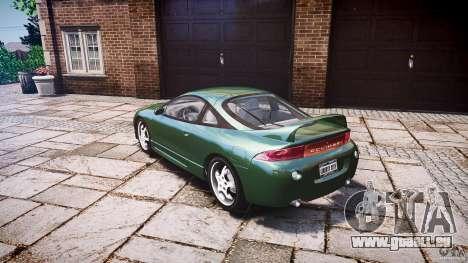 Mitsubishi Eclipse 1998 pour GTA 4 Vue arrière de la gauche