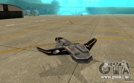 Hawk Air Command and Conquer 3 für GTA San Andreas rechten Ansicht
