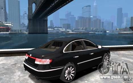 Hyundai Azera 2008 pour GTA 4 est un droit