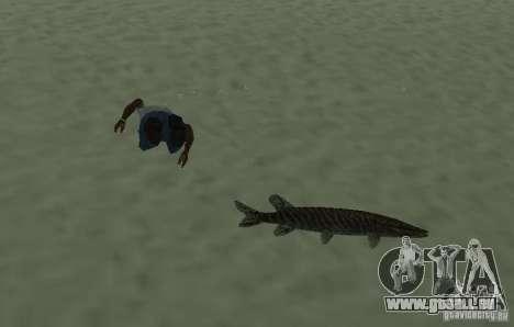 Nouveaux poissons pour GTA San Andreas troisième écran