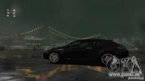 Alfa Romeo Brera Italia Independent 2009 v1.1 pour GTA 4 est une vue de l'intérieur