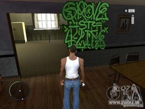 My Gang Tags pour GTA San Andreas troisième écran