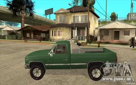 GMC Sierra 1986 für GTA San Andreas zurück linke Ansicht