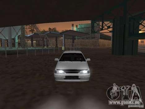 VAZ 2115 Tun lumière v. 1.1 pour GTA San Andreas vue de droite