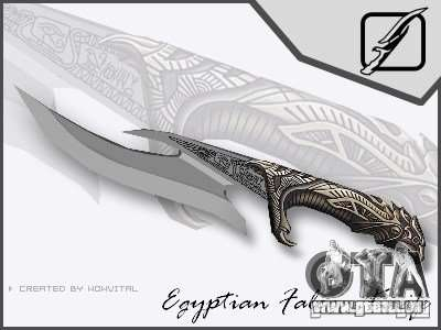 EGYPTIAN FALCON KNIFE V1.0 pour GTA San Andreas
