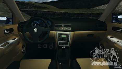 Volkswagen Golf 4 R32 2001 v1.0 pour GTA 4 Vue arrière