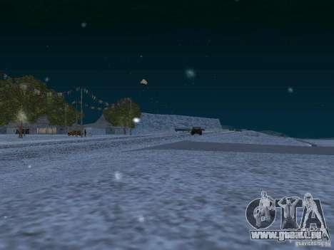 Neige pour GTA San Andreas dixième écran
