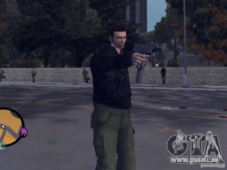 Claude HD from GTA III GTA Vice City pour la deuxième capture d'écran