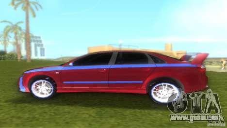 Audi A4 STREET RACING EDITION für GTA Vice City zurück linke Ansicht