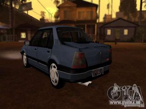 Chevrolet Monza GLS 1996 für GTA San Andreas Rückansicht