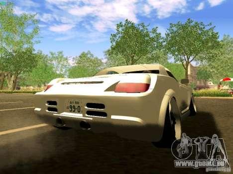 Toyota MR-S pour GTA San Andreas laissé vue