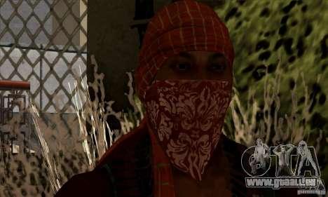 Pirate pour GTA San Andreas deuxième écran