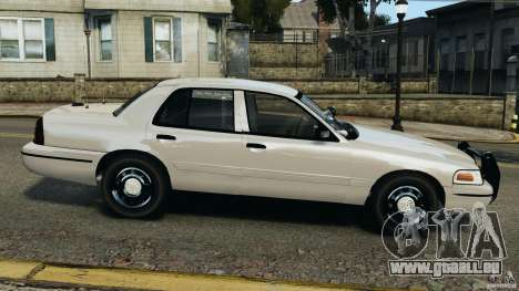 Ford Crown Victoria Police Unit [ELS] für GTA 4 linke Ansicht