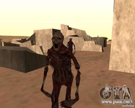 Zombie Half life 2 pour GTA San Andreas deuxième écran