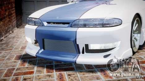 Nissan Silvia S14 [EPM] pour GTA 4 est une vue de dessous