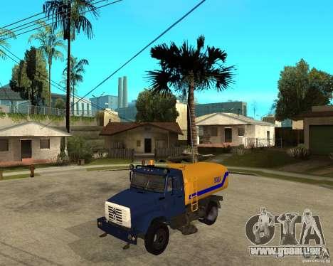 ZIL-433362 Extra Pack 2 pour GTA San Andreas vue de droite