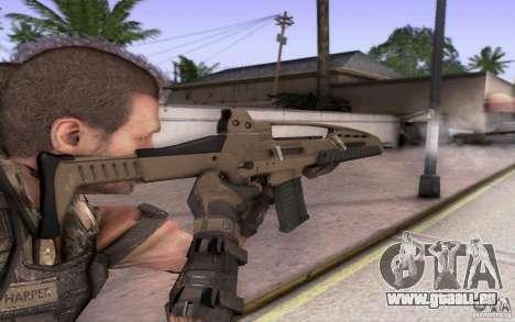 HK XM8 eotech pour GTA San Andreas deuxième écran