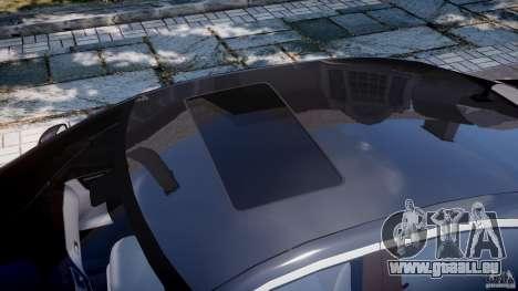 Mercedes-Benz S600 w221 pour GTA 4 est une vue de dessous