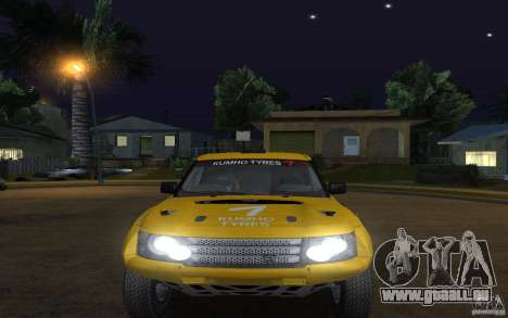 Bowler Nemesis pour GTA San Andreas vue de droite