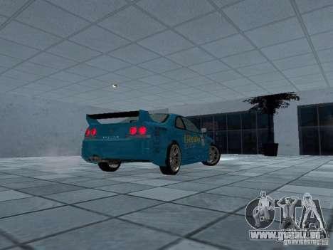 Nissan Skyline R 33 GT-R für GTA San Andreas rechten Ansicht