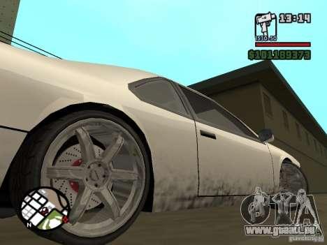 Nouvelles pièces pour le tuning pour GTA San Andreas deuxième écran