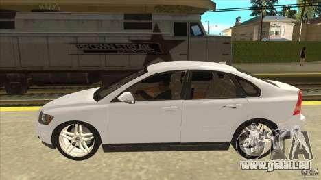 Volvo S40 2009 pour GTA San Andreas laissé vue