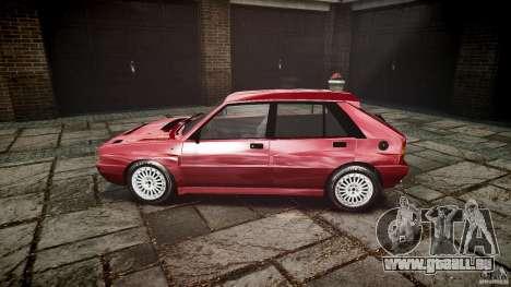 Lancia Delta HF Integrale Dealers Collection pour GTA 4 est une gauche