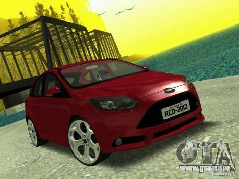 Ford Focus ST 2013 für GTA San Andreas