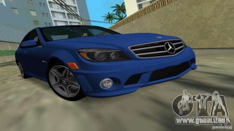 Mercedes-Benz C63 AMG 2010 pour GTA Vice City