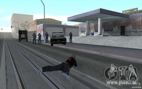 Nouvelle animation fusils de tir pour GTA San Andreas quatrième écran