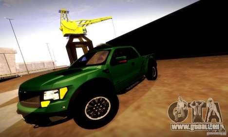 Ford F-150 SVT Raptor V1.0 für GTA San Andreas obere Ansicht
